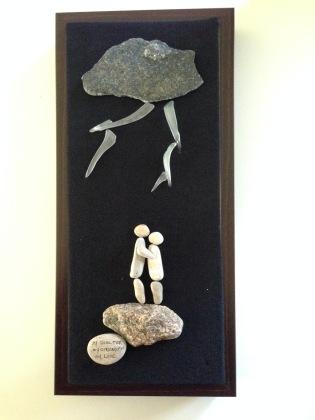 """ My Shenter, My Strength. my Love"". Custom design for wedding gift"
