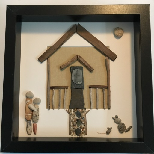Custom design of a family cottage including their elderly cat.