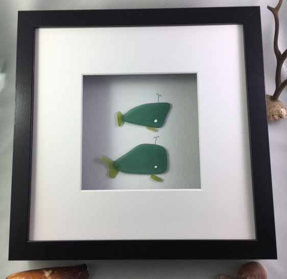 Green Whales/ Sold