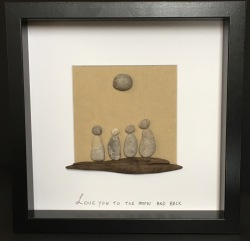 Love you to the moon- family of 4