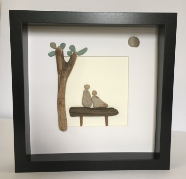 Couple on Bench with tree